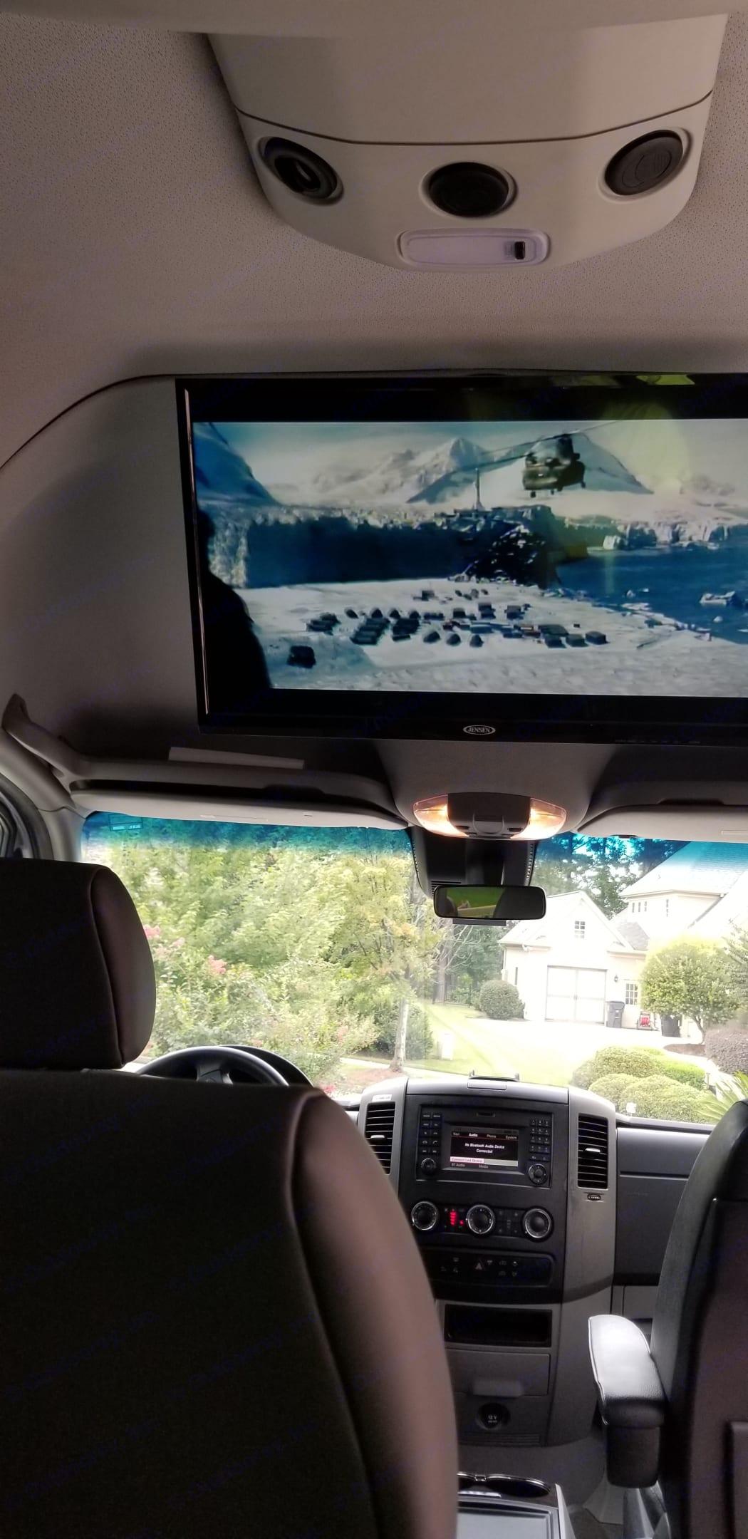 Ice Wall Climbing. Mercedes-Benz Sprinter 2016