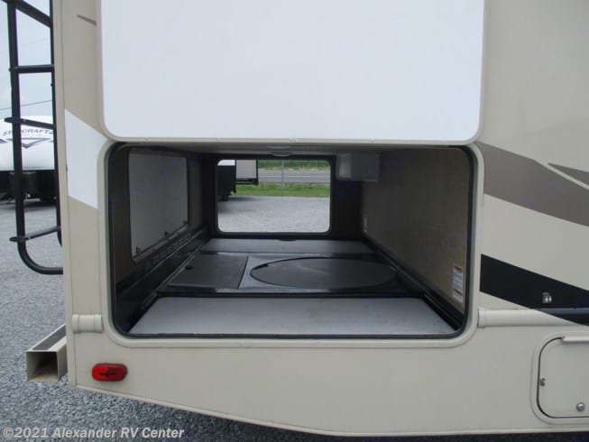 Look at All This Storage Room!. Thor Motor Coach Four Winds 2017