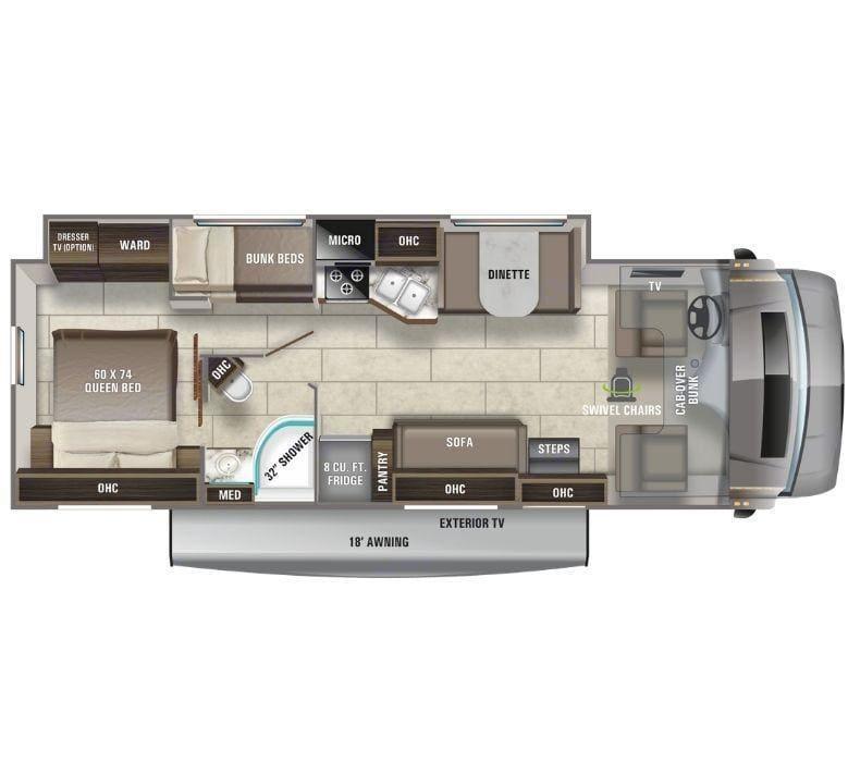 Entegra Coach Odyssey 31F 2021