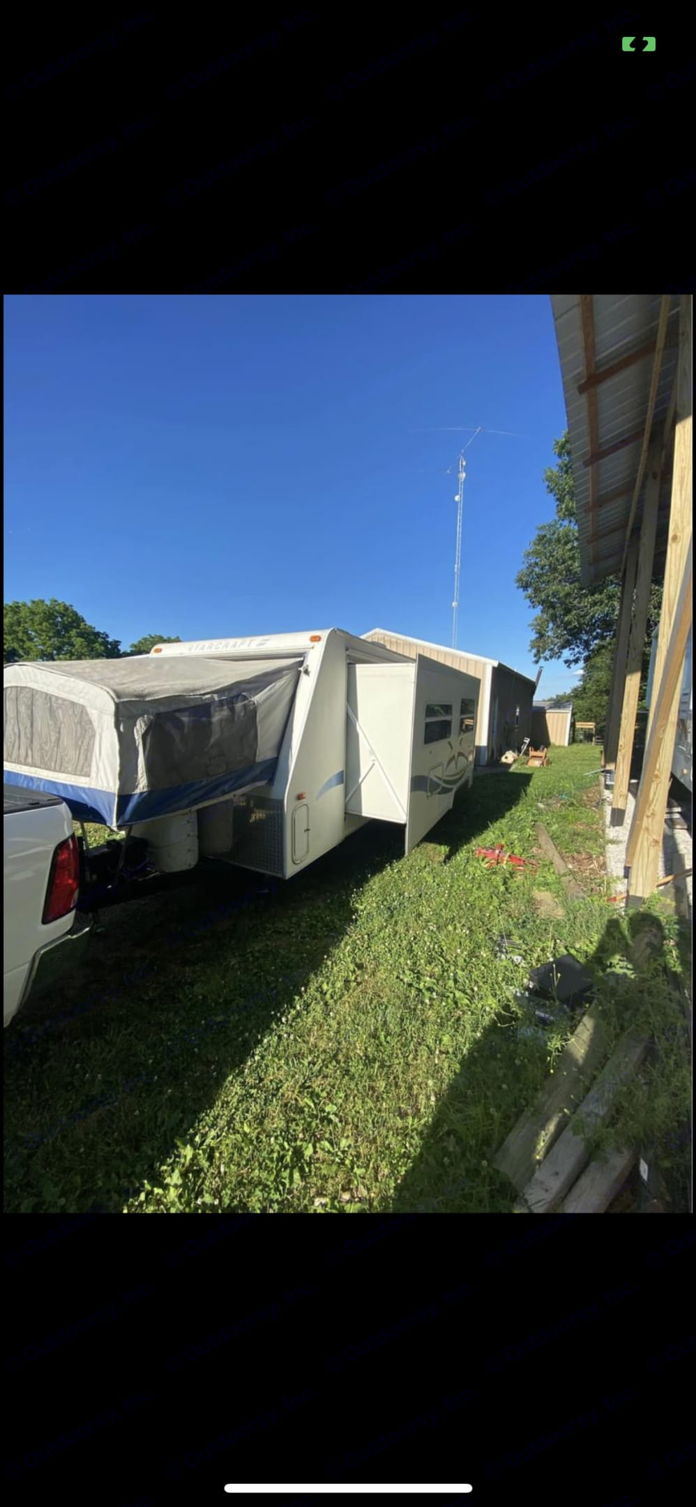 Starcraft Camping Trailers 2002