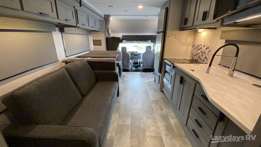 Our favorite thing about the RV is the super modern and trendy decor! . Forest River Solera 2021