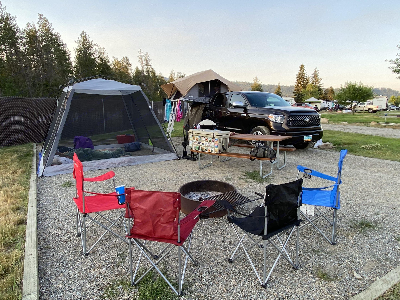 More camping equipment examples. . Toyota Tundra Platinum 2021