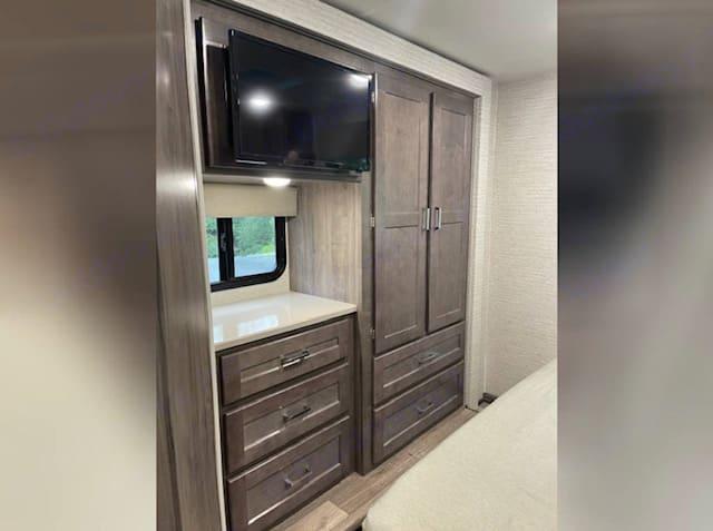 Full Closet, TV & Storage. Winnebago Winnebago 2021