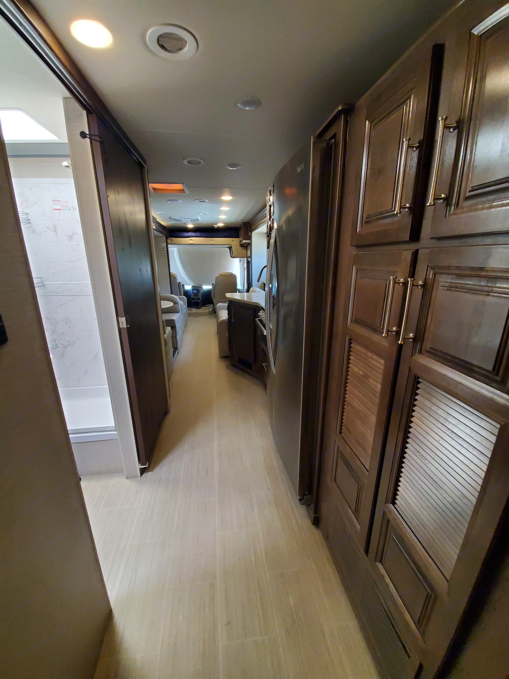 Plenty of storage. Entegra Coach Vision XL 2020