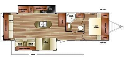 Wonderful floorplan!. Venture Rv Sporttrek 2015