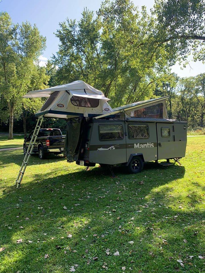 TAXA Outdoors Mantis Camper 2019