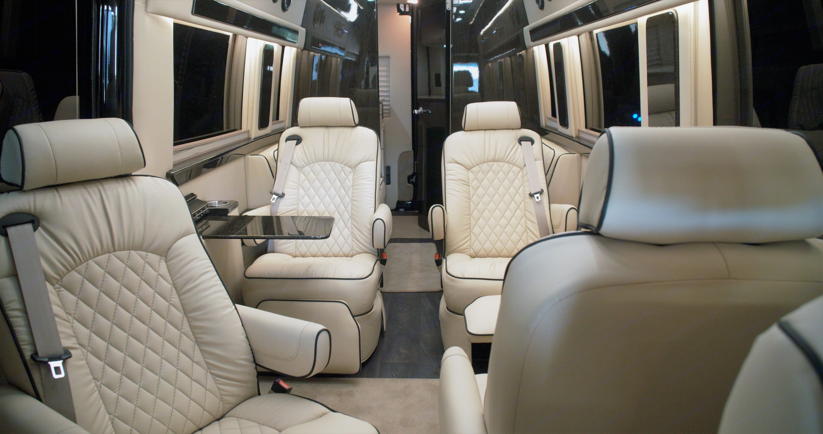 Giving you more options for business and pleasure, the 2nd row seats turn 360 degrees so you can have a meeting, play games or lay flat for +2 beds.. Ultimate Toys Traveler 2022