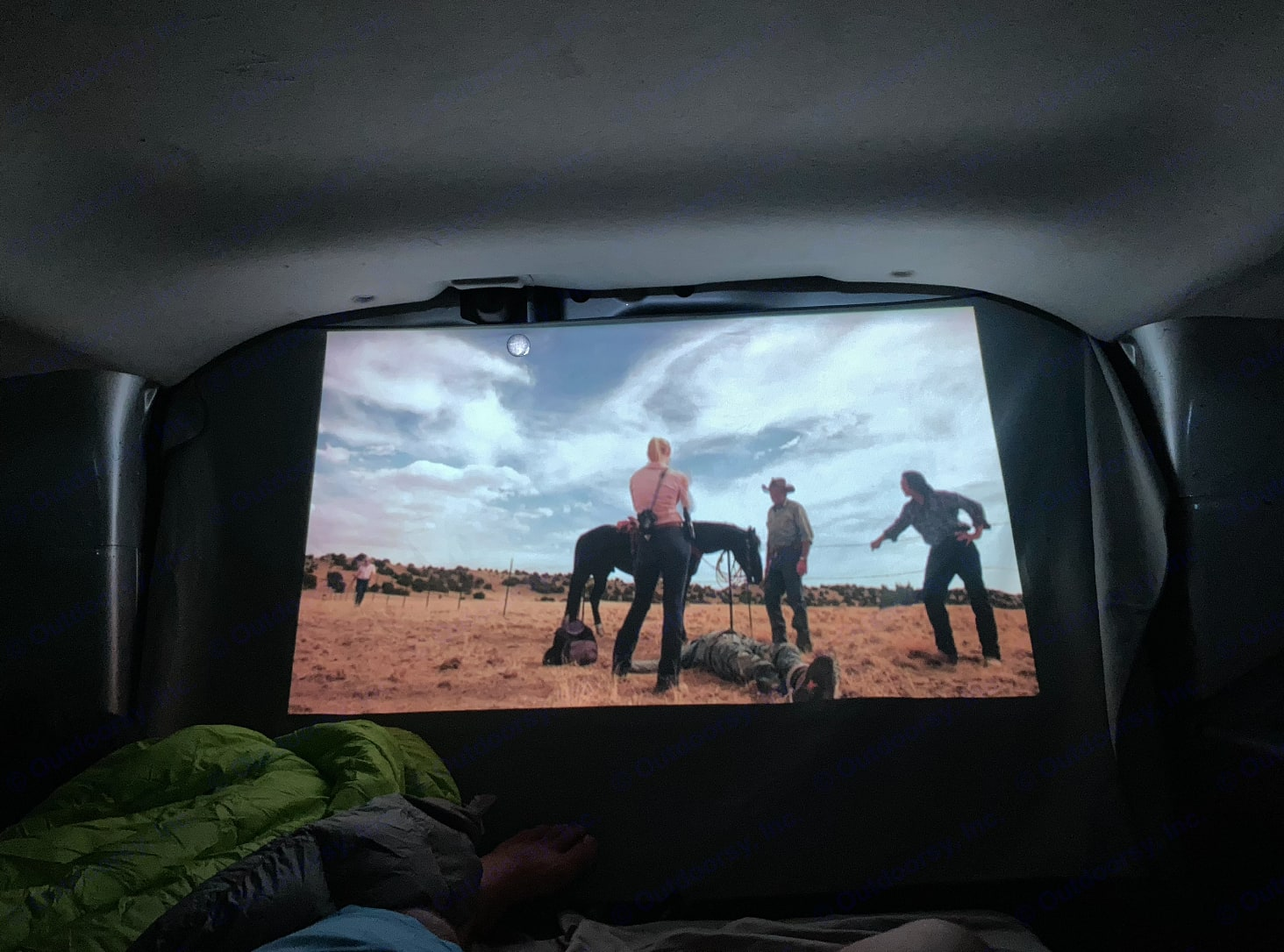 Watch your favorite movie or show every night before bed with our projector and projector screen!. Dodge Sprinter 2015