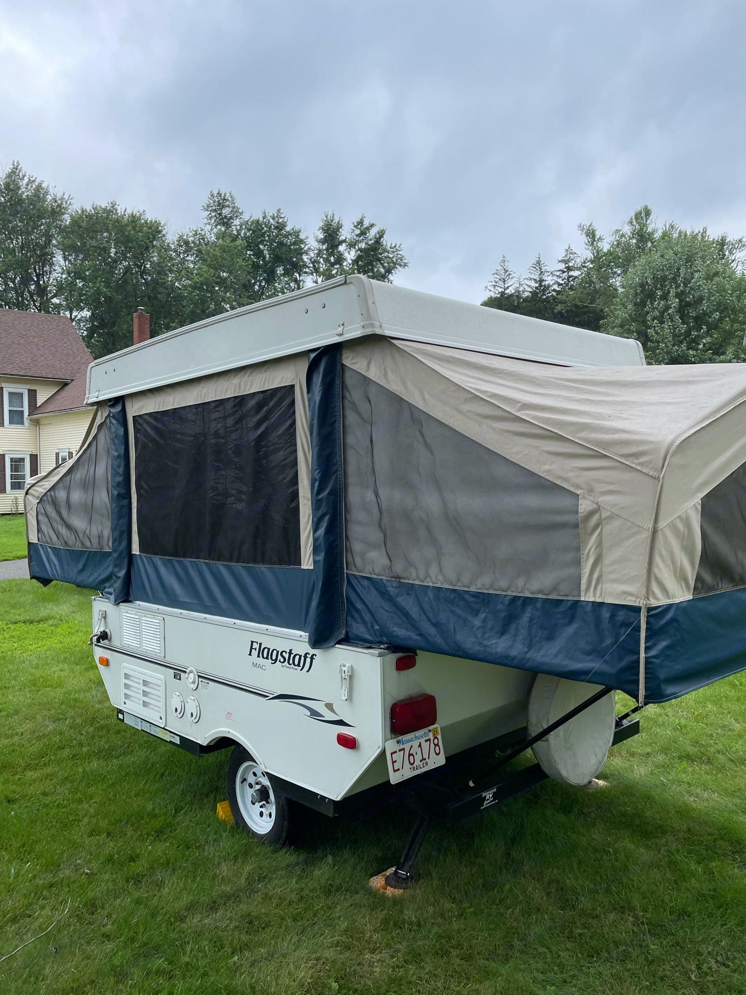This camper great at getting into tight spaces as well roomy sites as well.. Flagstaff Other 2011