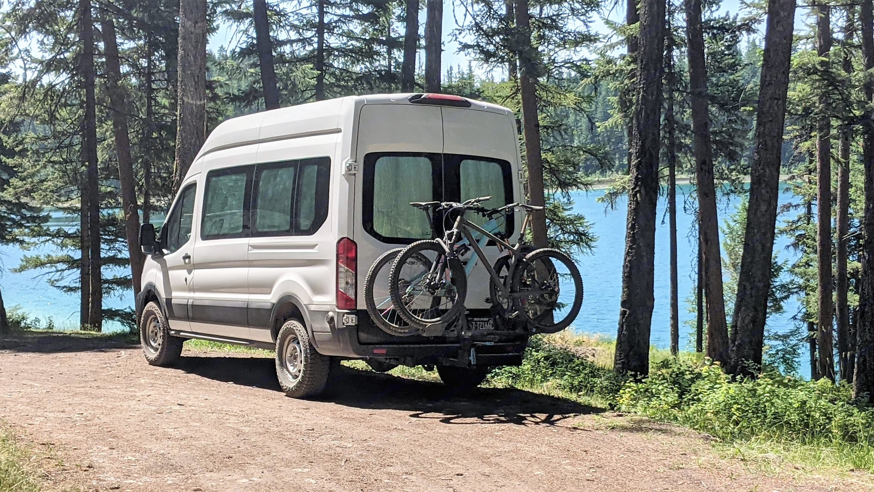 The perfect shuttle vehicle for those hard to reach trails.. Ford Custom Transit 2019