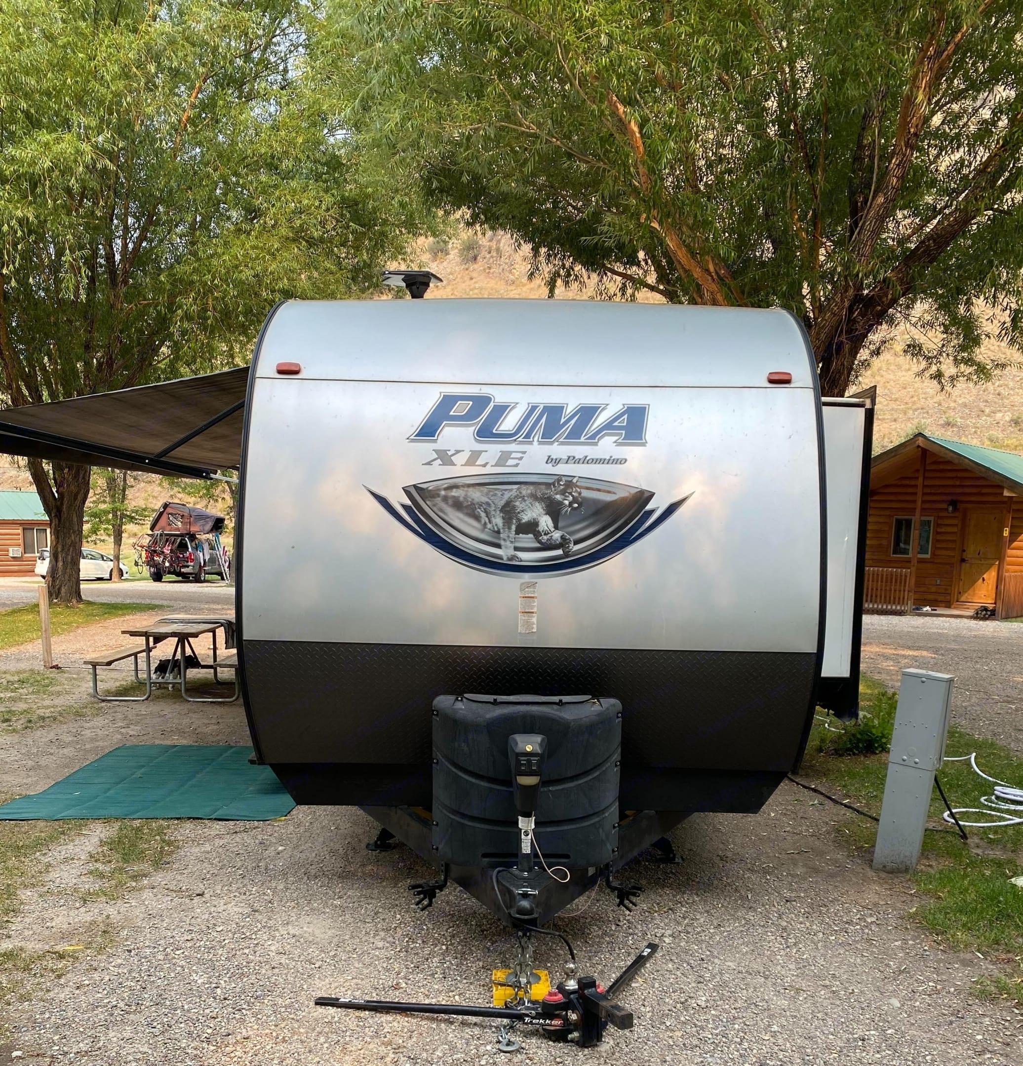 Stabilizer hitch. Palomino Puma 2017