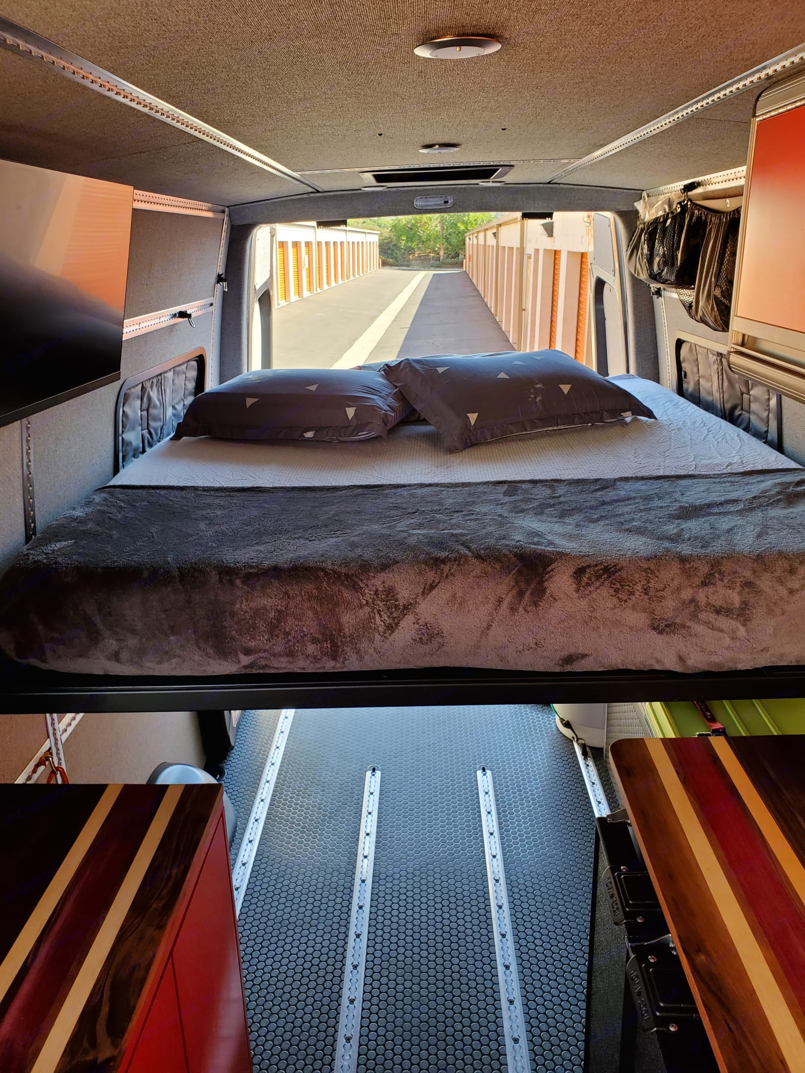 Great place to rest your head after a day spent adventuring!. Mercedes-Benz Sprinter 2019