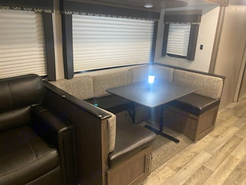 Converts to a bed. Sleeps 2. Keystone Outback 2019