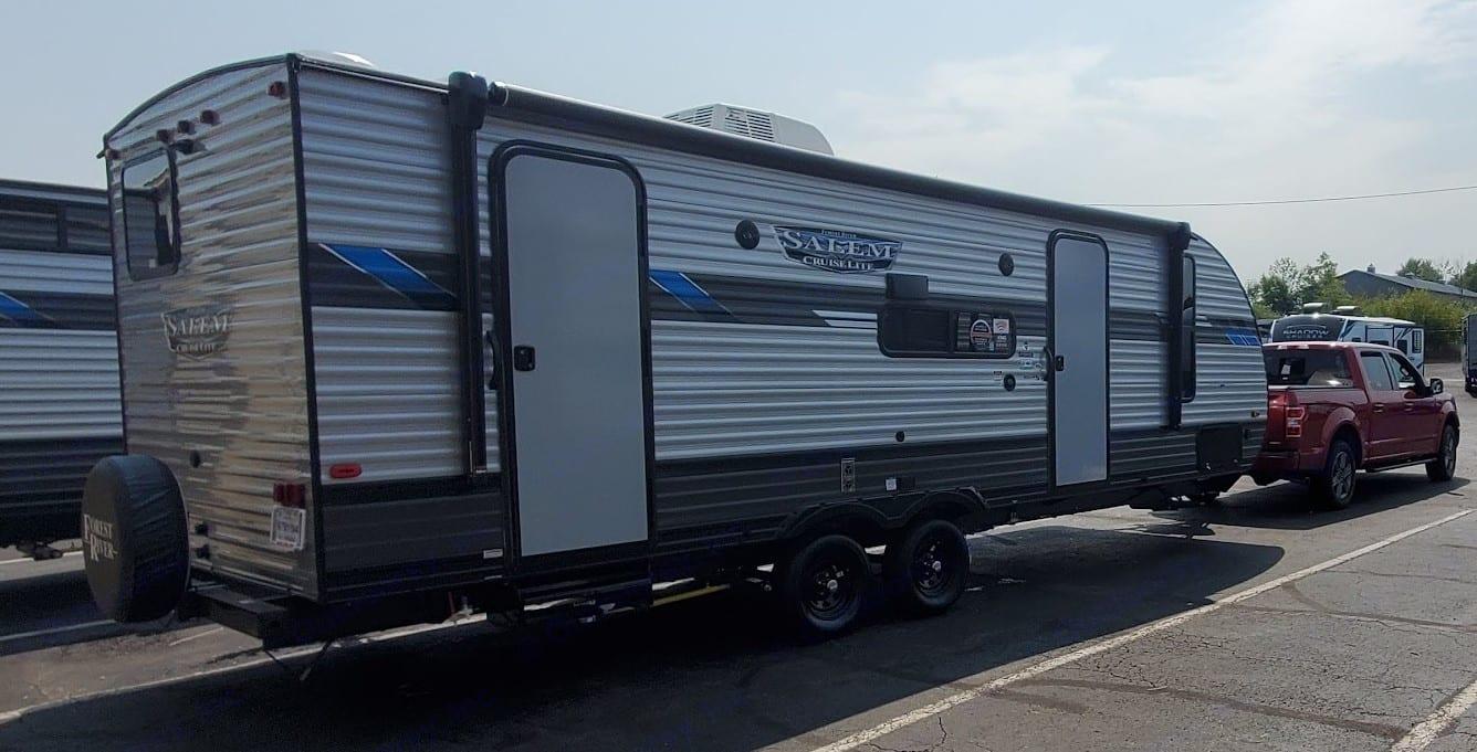 A camper ready for fun!. Forest River Salem Cruise Lite 2021