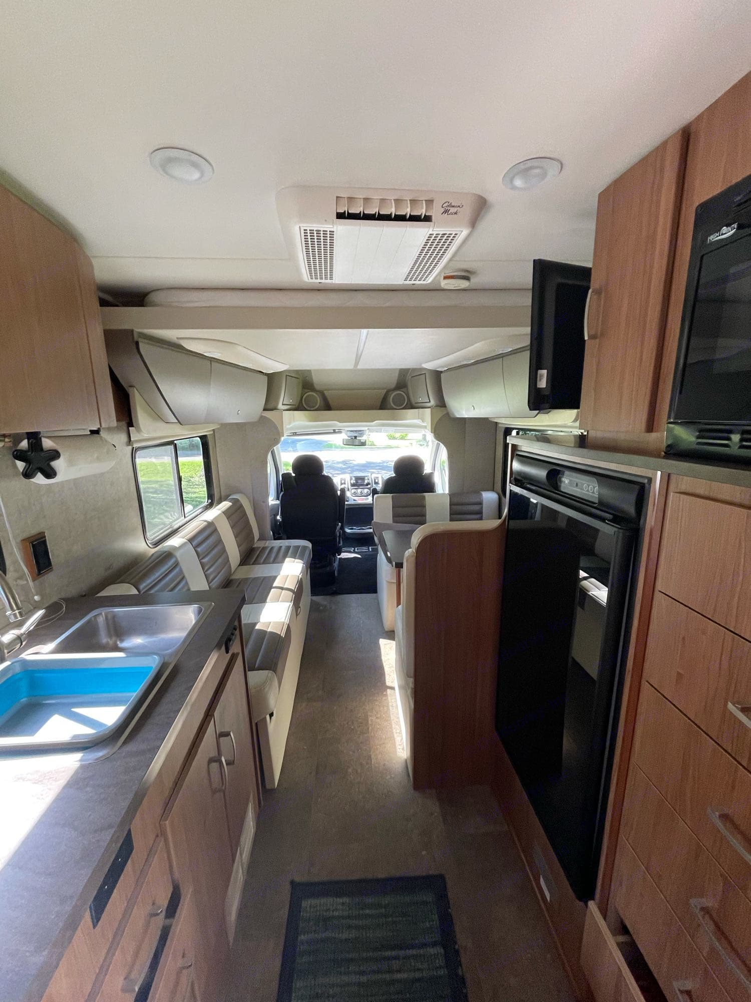 View from the back. Winnebago Trend 2015