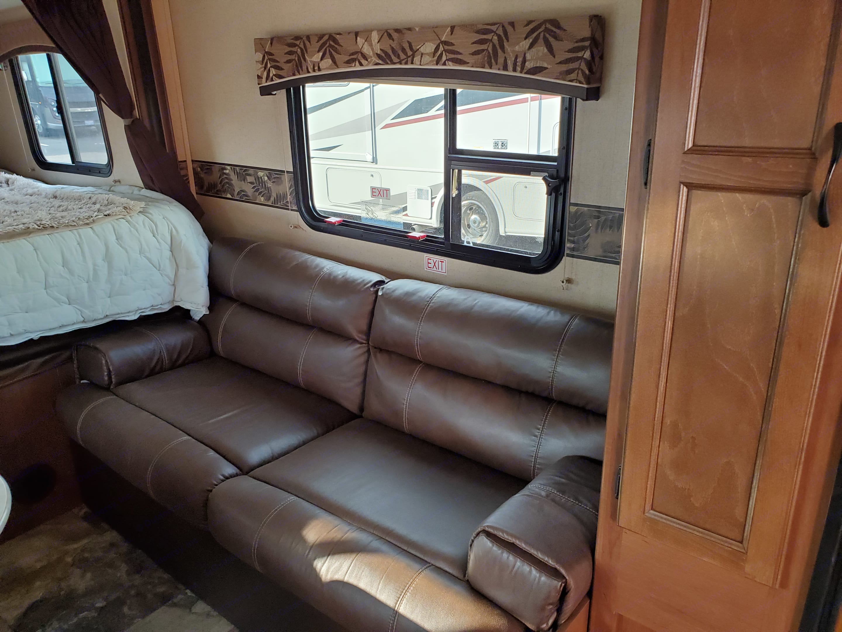 Lots of Storage underneath. Jayco Jay Feather Ultra Lite 2015