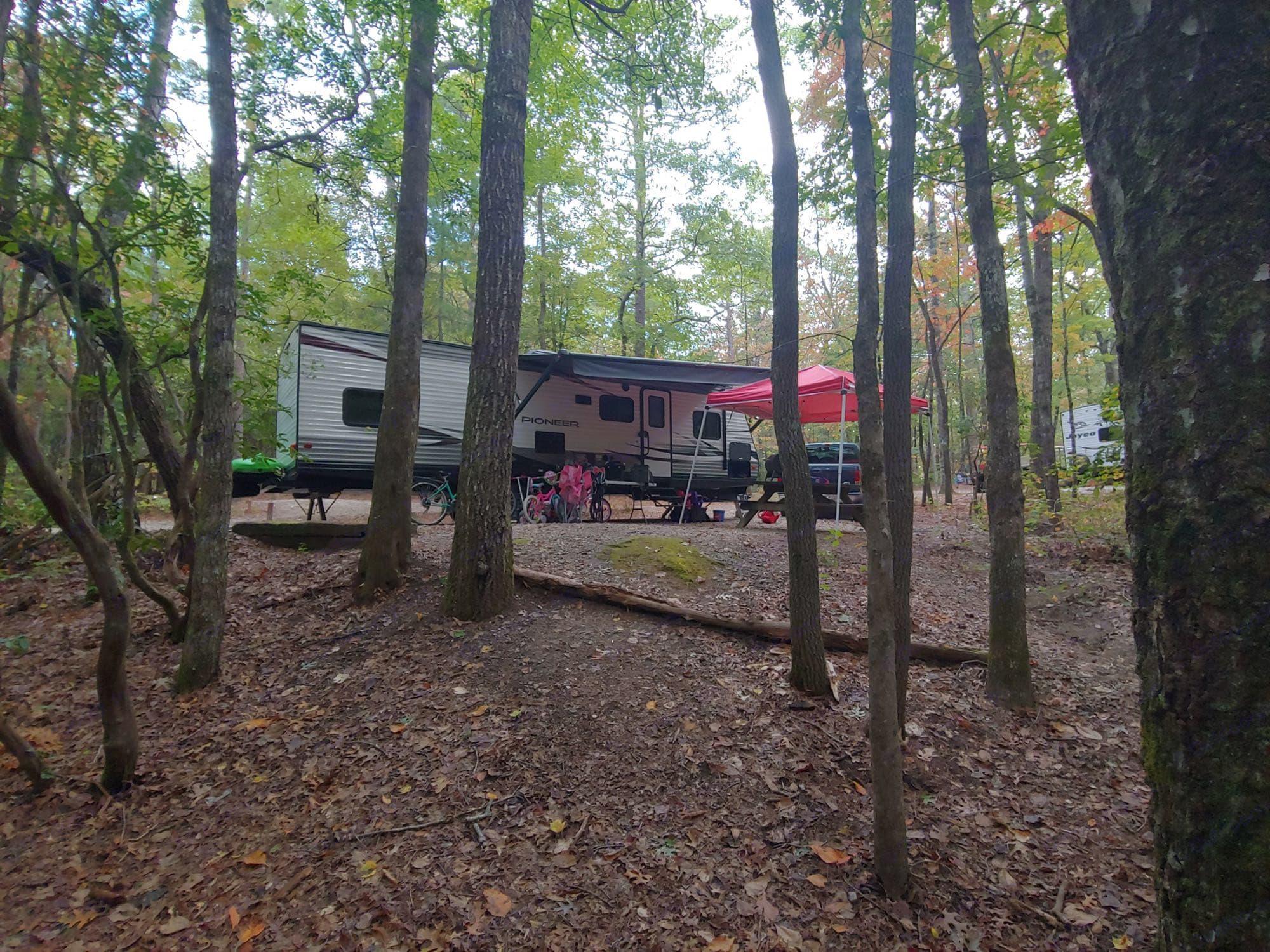 Oconee State Park in Mountain Rest, SC. Heartland Pioneer 2019