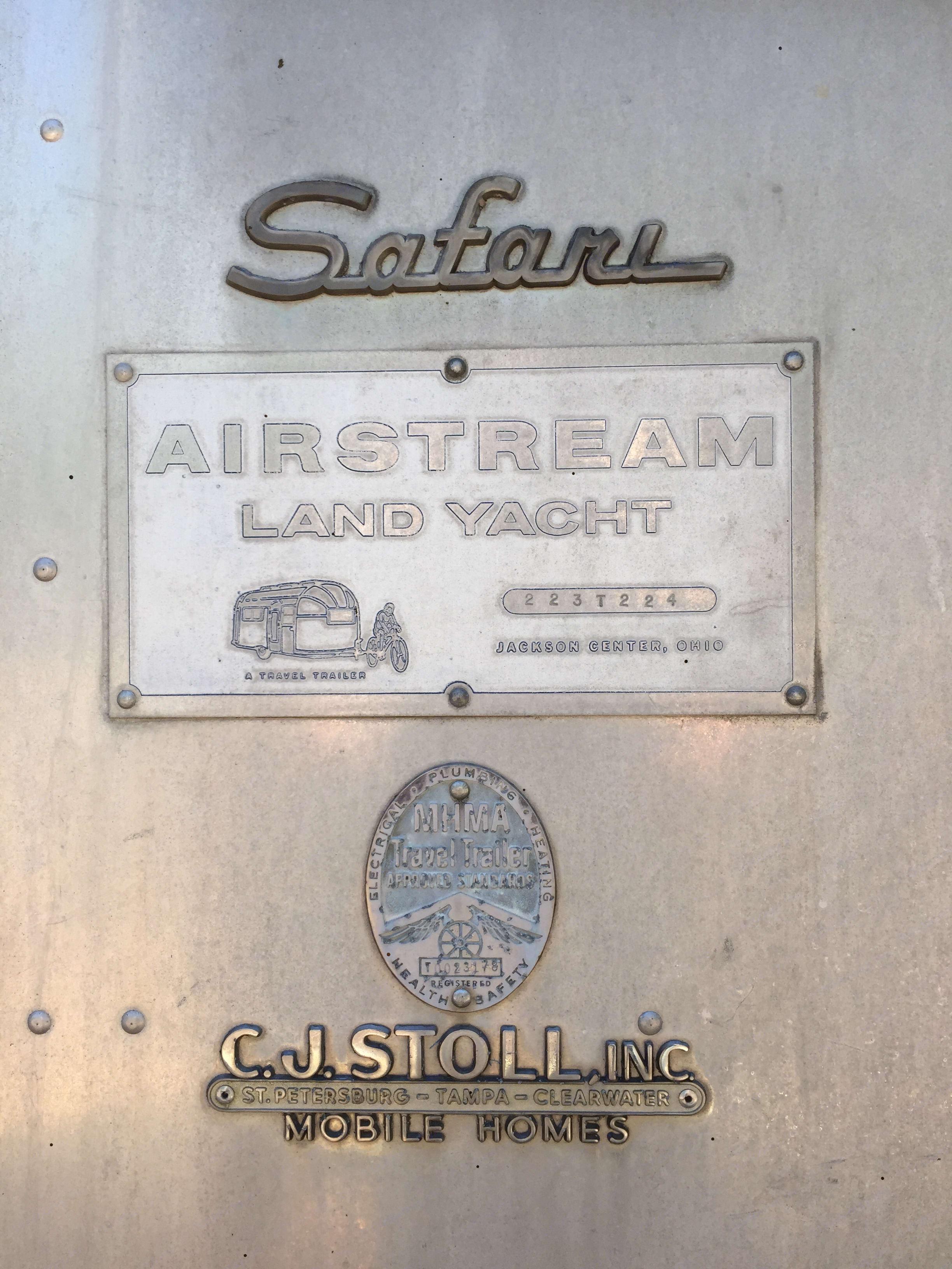 Airstream Safari 1963