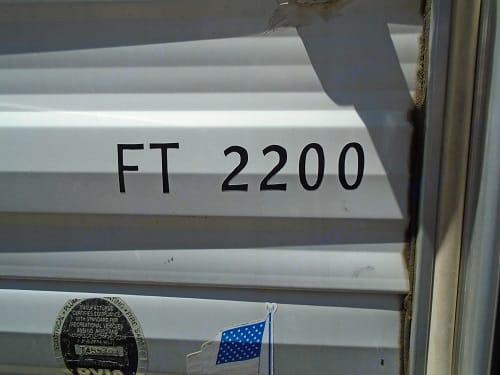 Model FT2200. Weekend Warrior Ft2200 2003