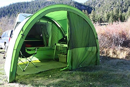 Includes ArcHaus side tent, use as awning and storage at night.. Volkswagen Westfalia 2001