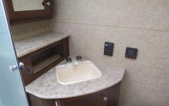 Bathroom. Venture Rv Sonic 2016