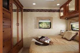Master Bedroom. Jayco Greyhawk 2014
