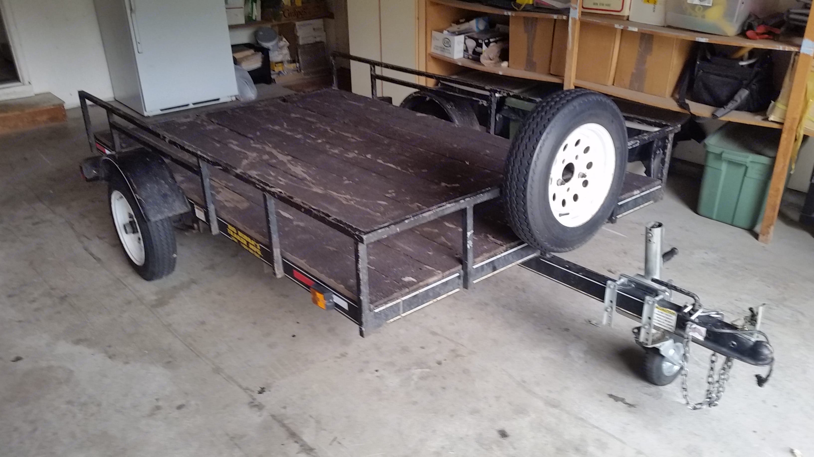 Big Bubba Trailers 8 FOOT UTILITY FLATBED 2005