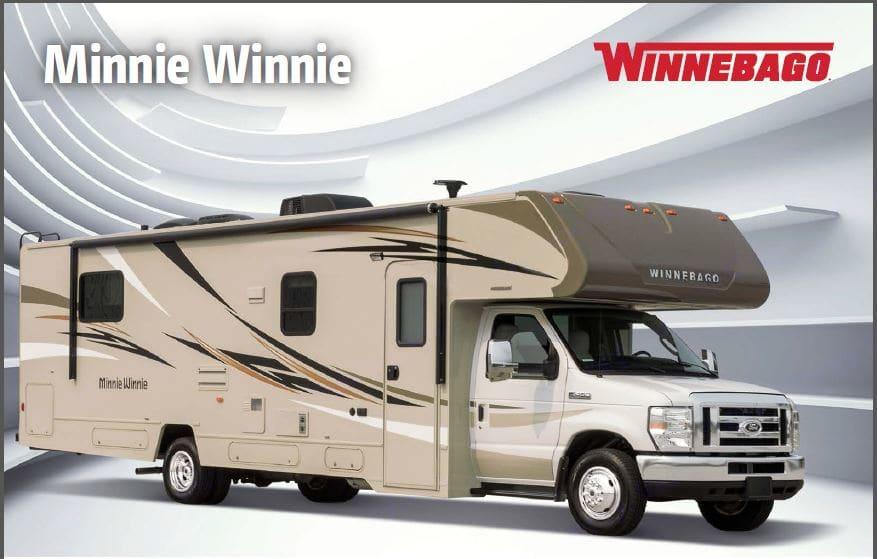 Winnebago Minnie Winnie 2017