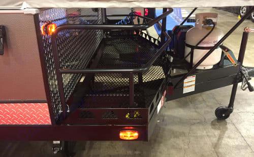 Bike/Cargo Deck. Forest River Flagstaff 228BHSE 2020