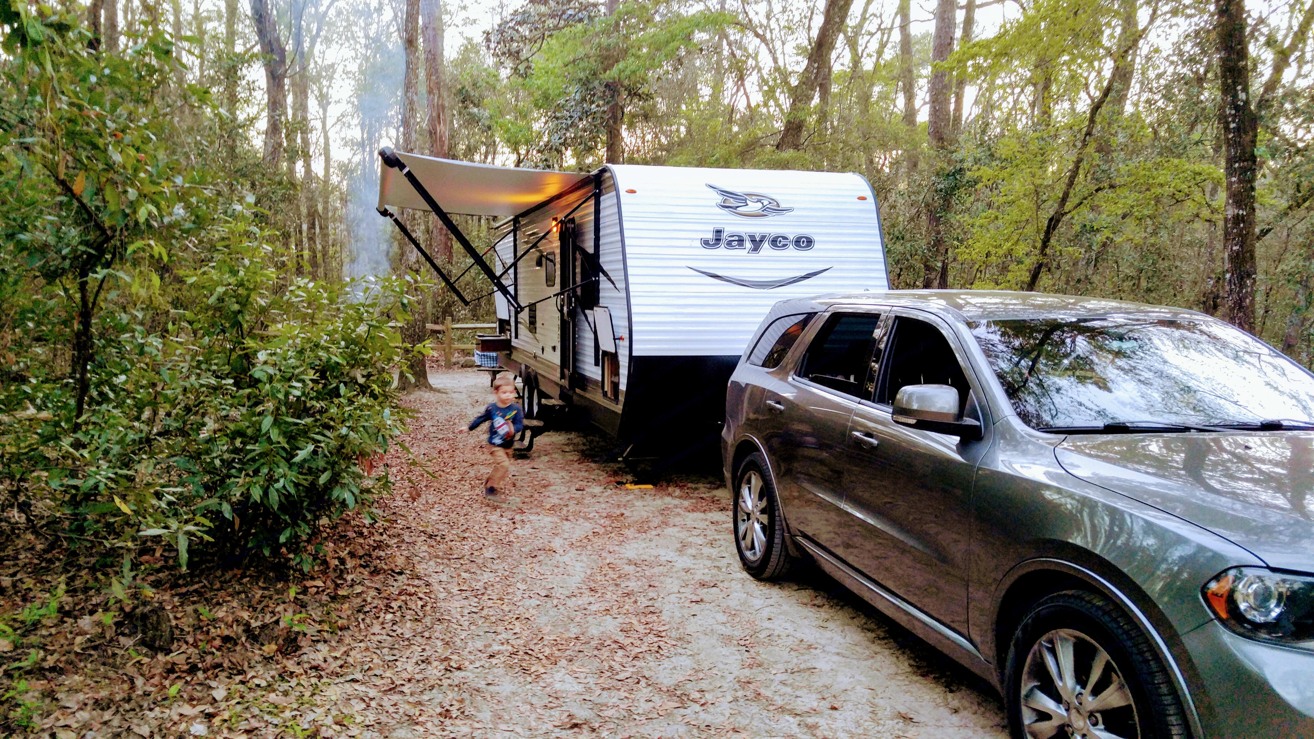 Relatively lightweight trailer for the size.. Jayco Jay Flight 2017