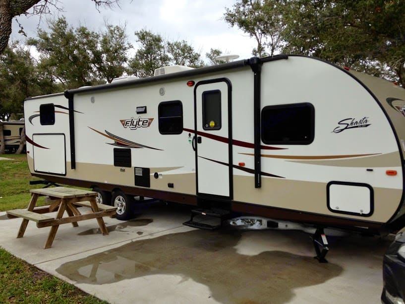 Front View. Shasta Flyte 2015