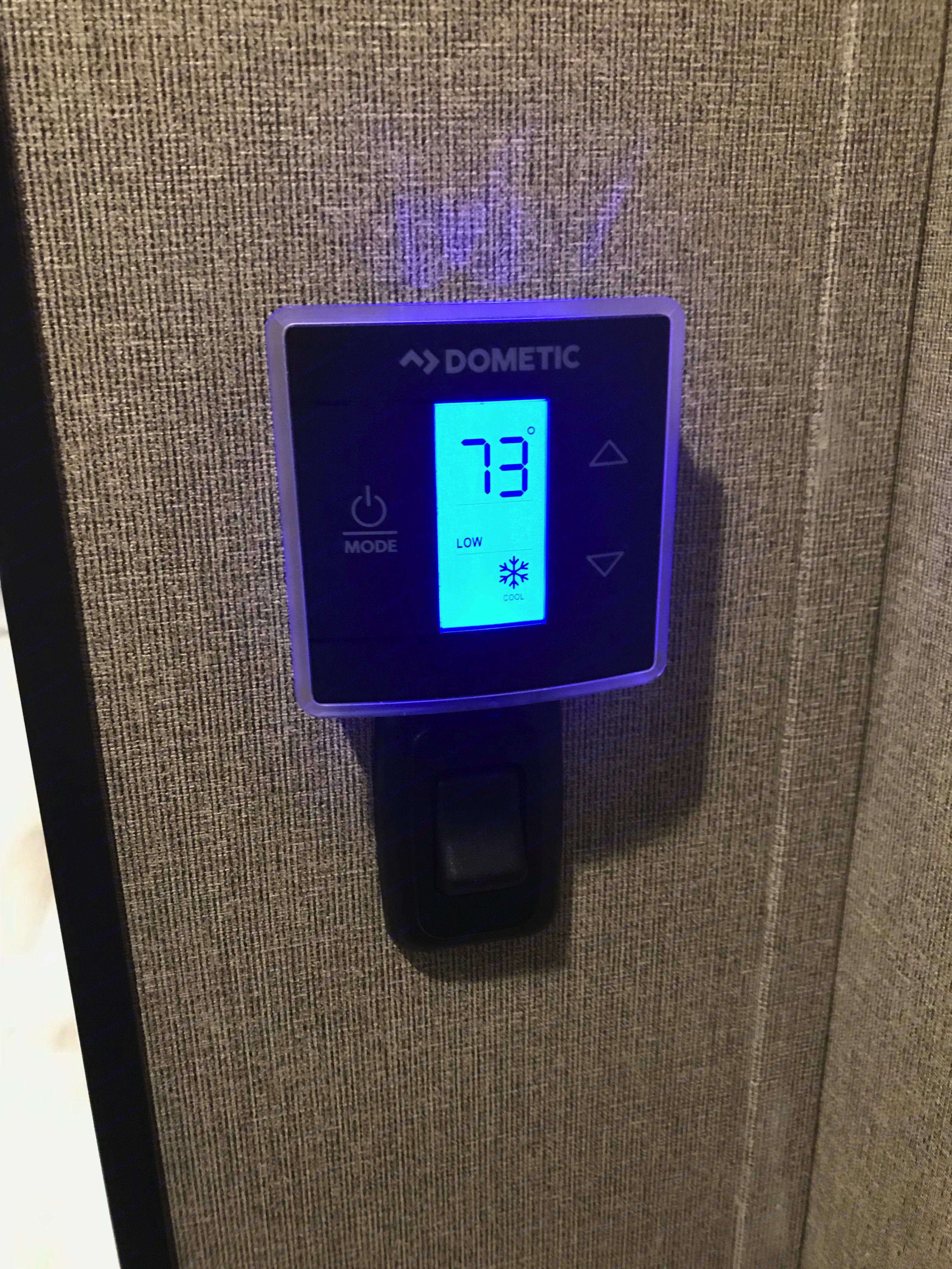 Digital thermostat keeps the interior nice and comfy.. Grand Design Other 2018