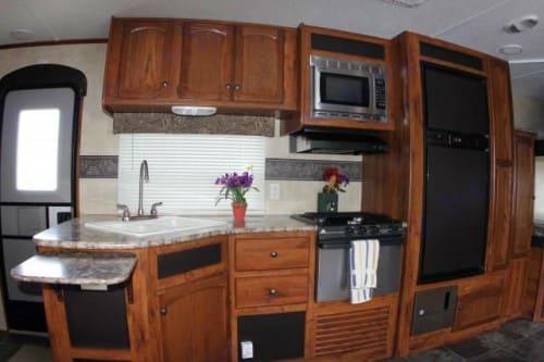 Hideout 26bhswe kitchen. Hideout 26BHS WE 2014