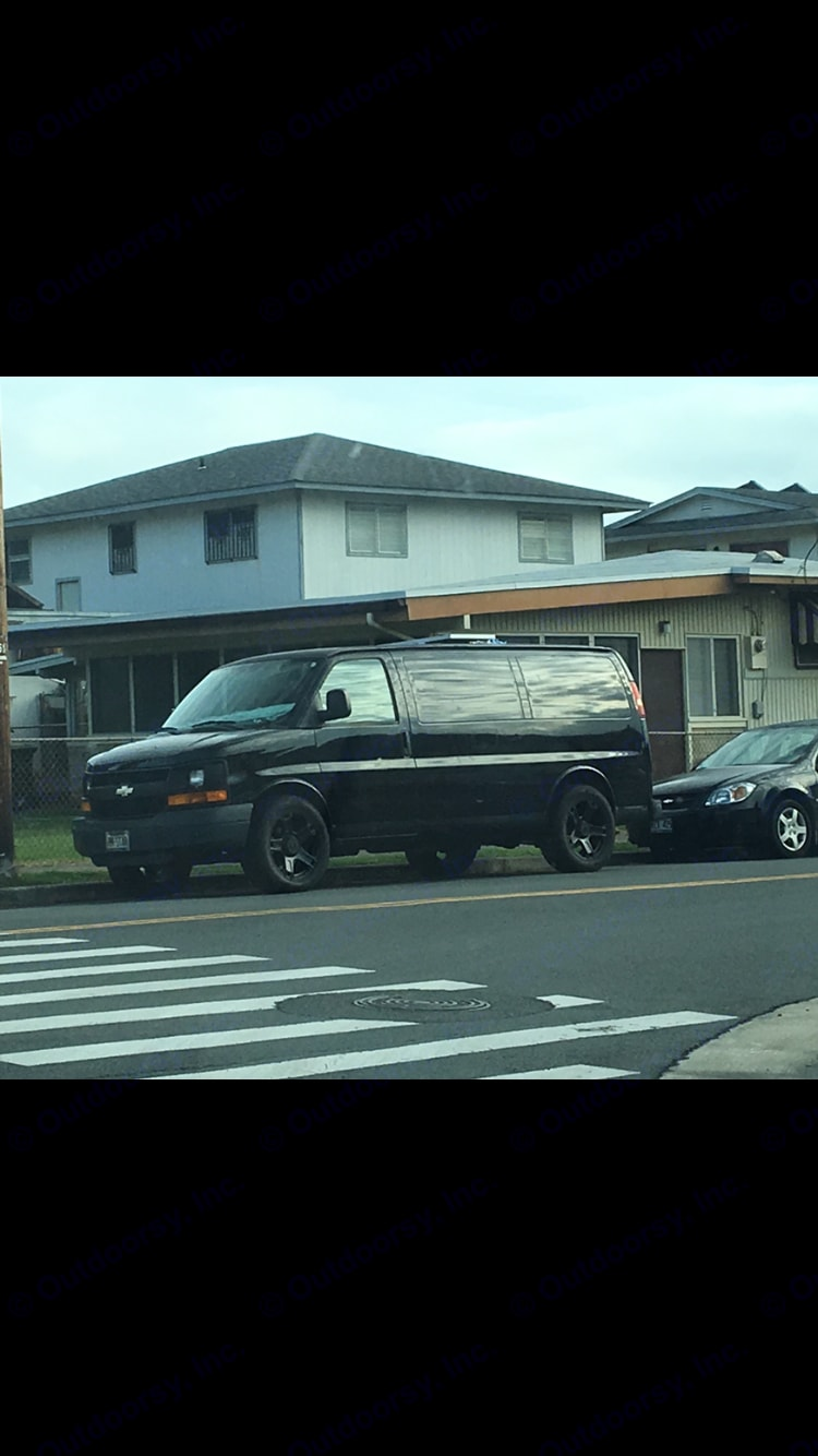 Van can be parked along side neighborhood roads and streets for stealth camping.. Chevrolet Other 2004