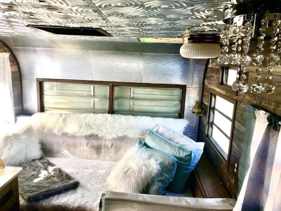 Super comfy bed sleeps 1 or 2. Coleman twilight bungalo 1972