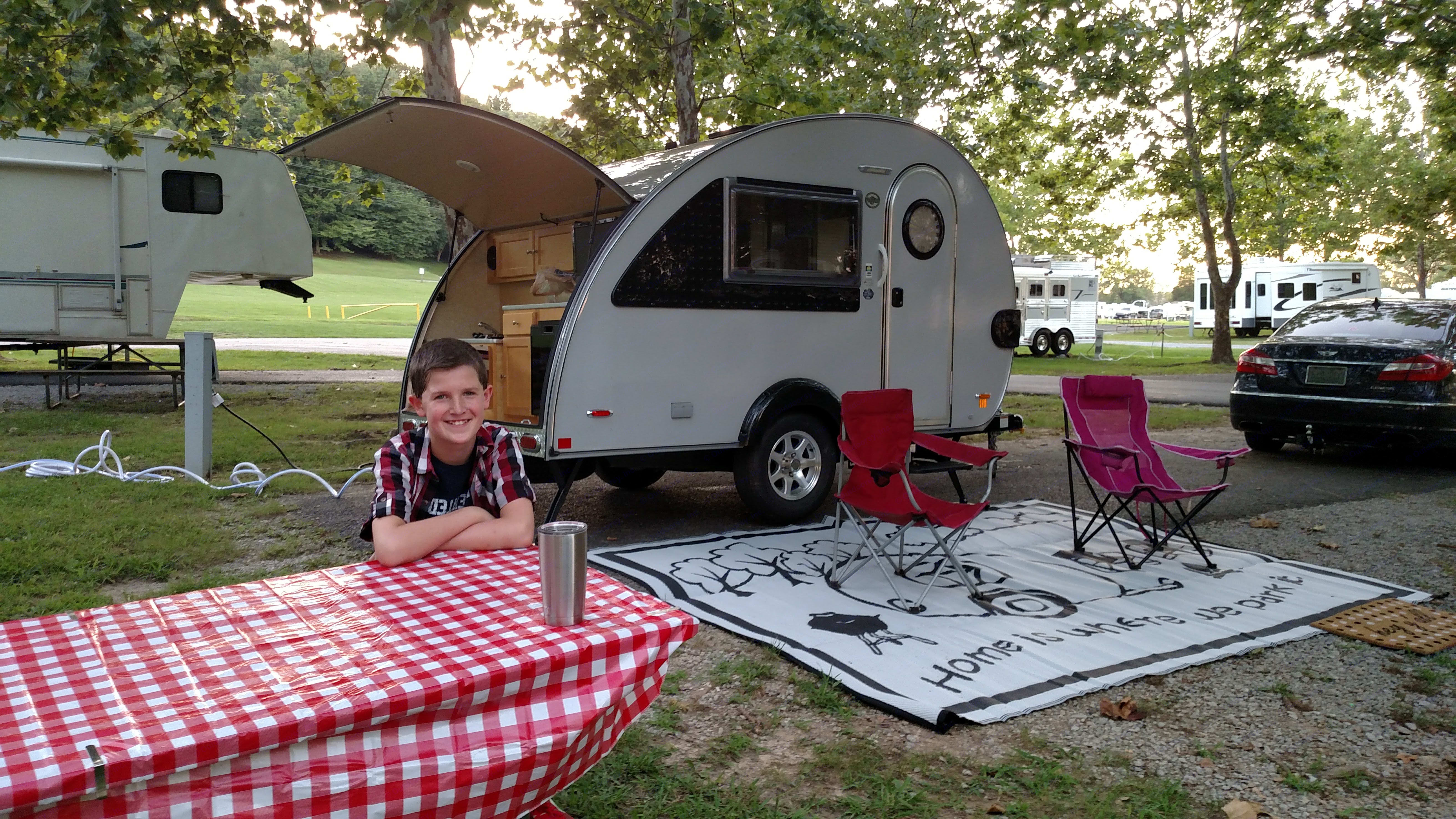 2016 T@B camping at Green River Lake State Park. Little Guy T@B 2016