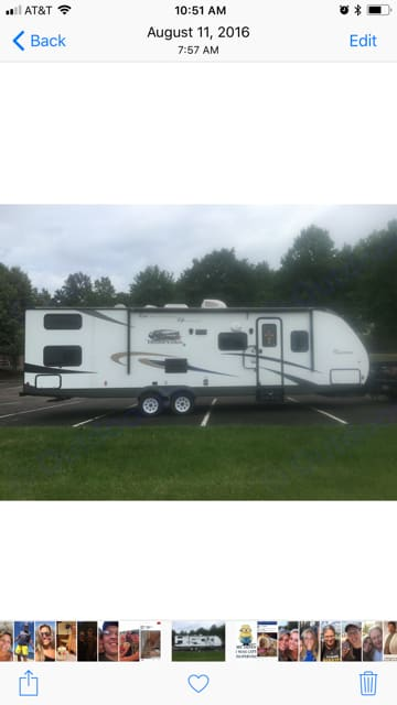 * 2015 Coachmen Freedom Express in EXCELLENT CONDITION! *Everything inside is brand new and custom designed. Coachmen Freedom Express 2015