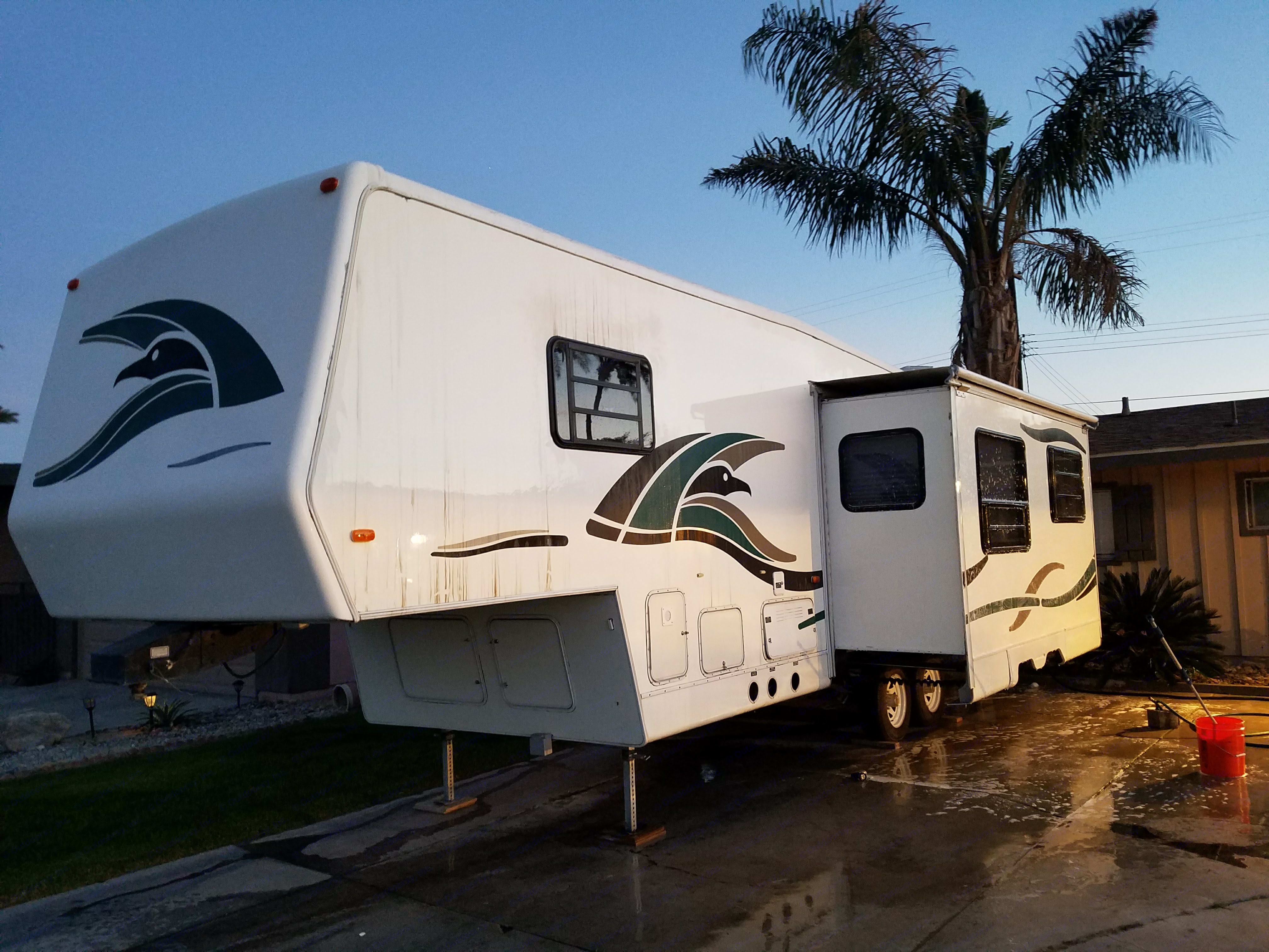 Slide out for extra living space. Airstream Sea Hawk 1998