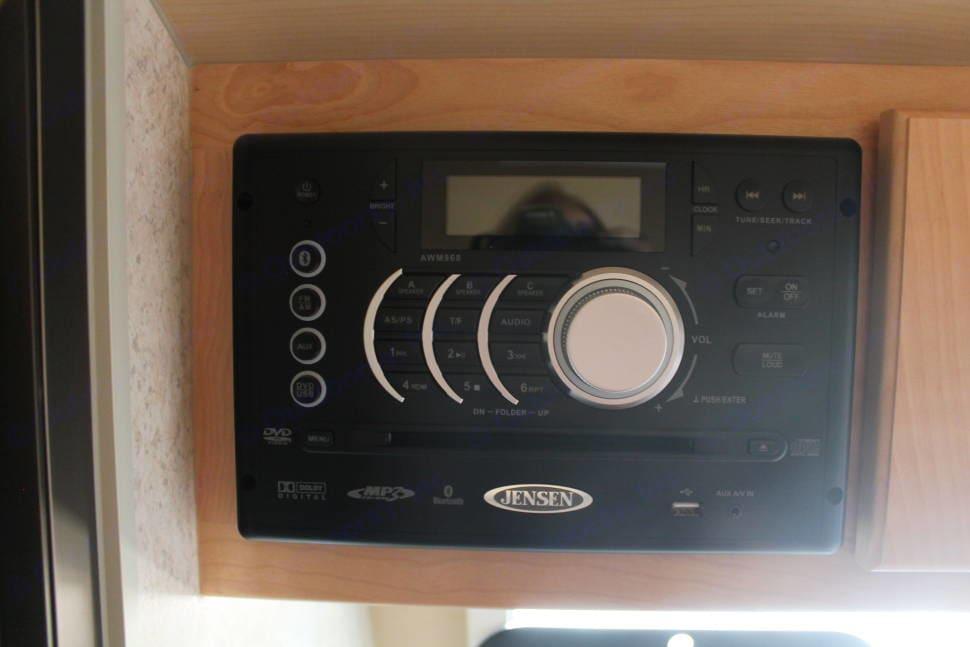 DVD player/media control/ surround sound. Little Guy T@B 2016