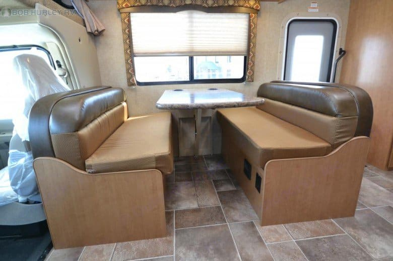 Dinette Table. Thor Motor Coach Chateau 2017