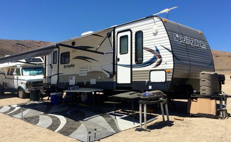 Full setup. Keystone Springdale 2014