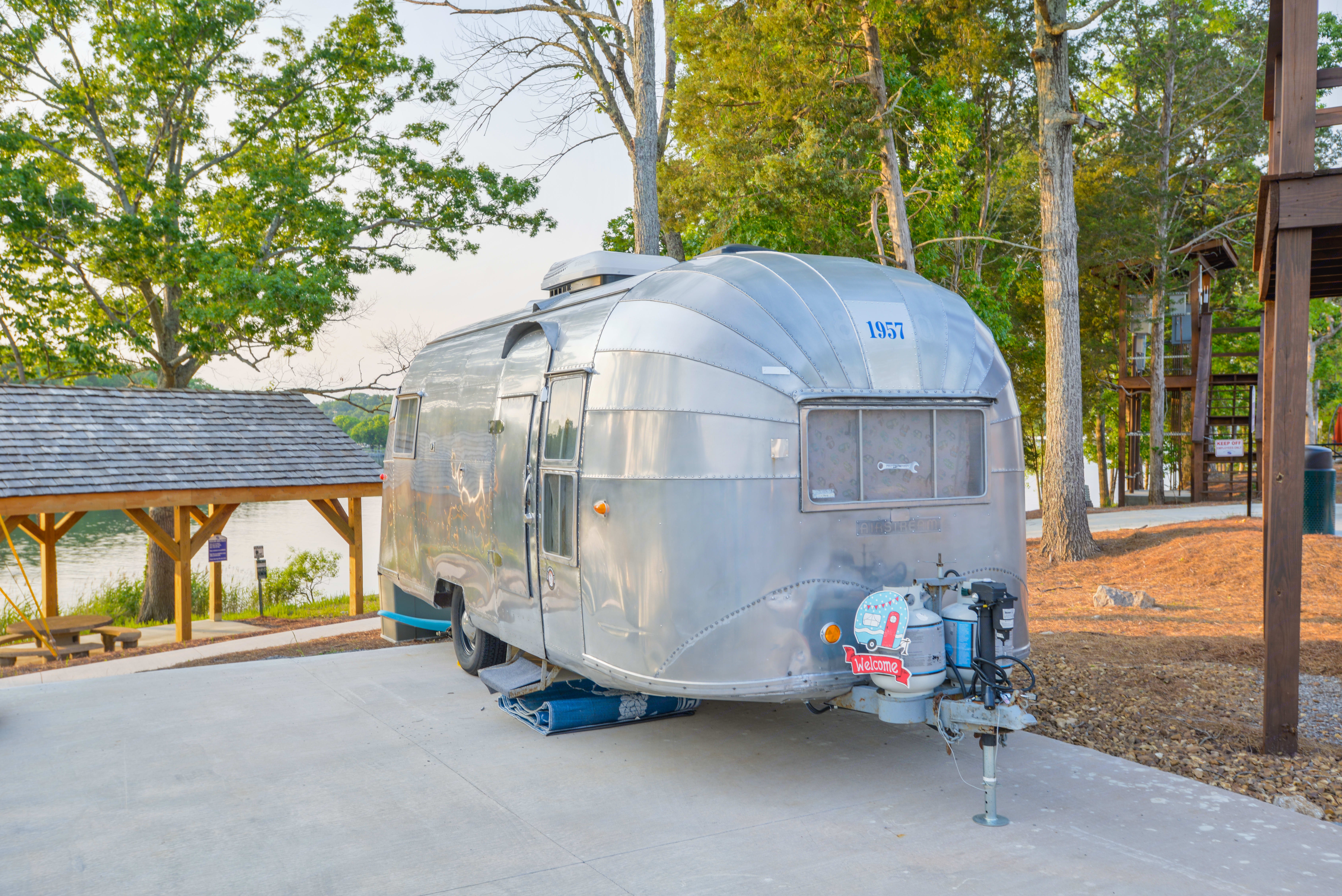 1957 Airstream - Completely remodeled :). Airstream Caravanner 1957