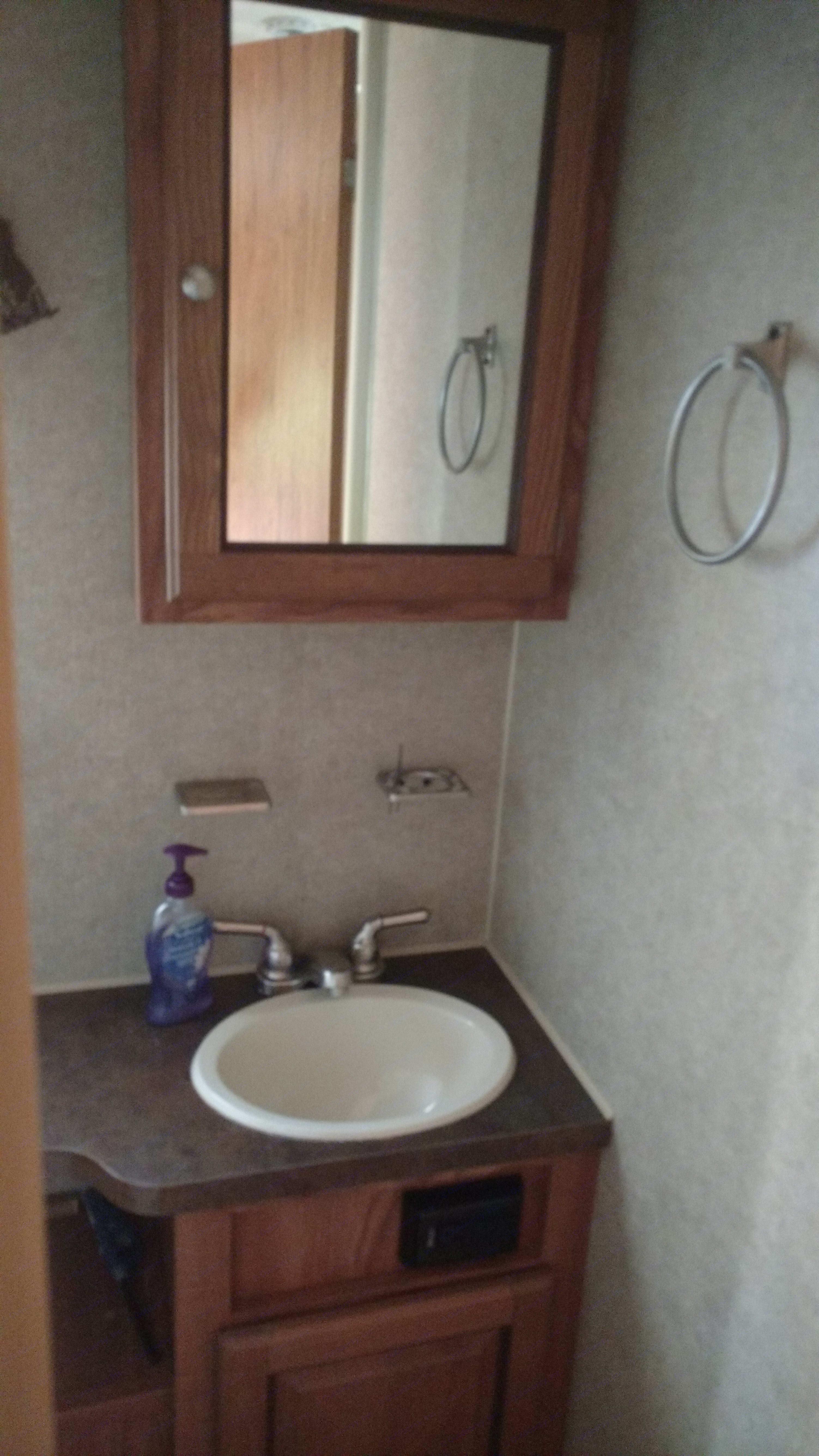 Bathroom. Forest River Rockwood Mini Lite 2016