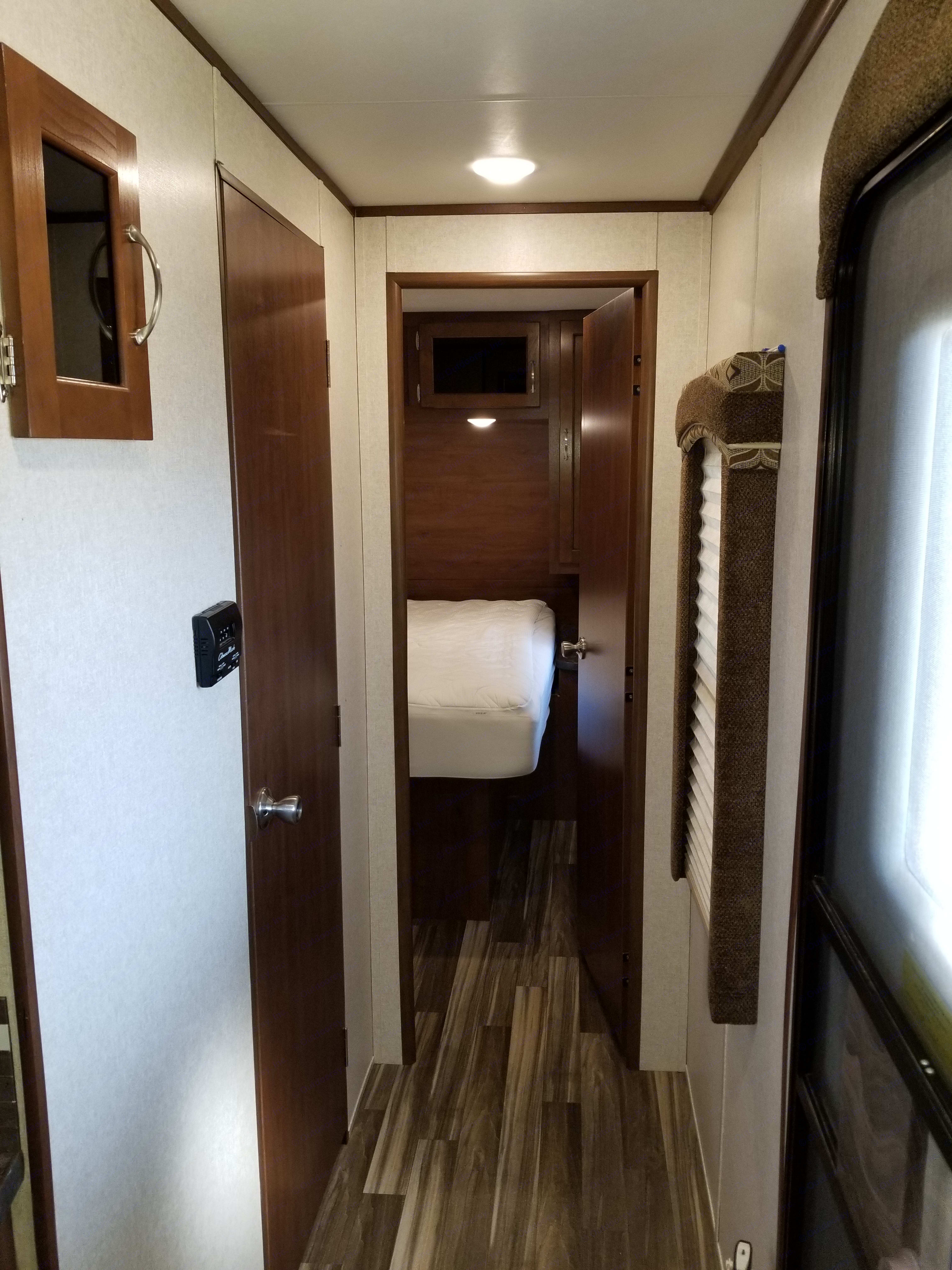 Private master bedroom. Jayco Jay Flight 2017