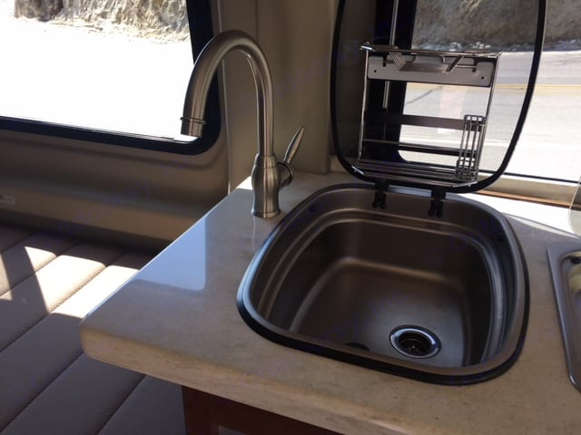 Sink. Winnebago Travato 2016