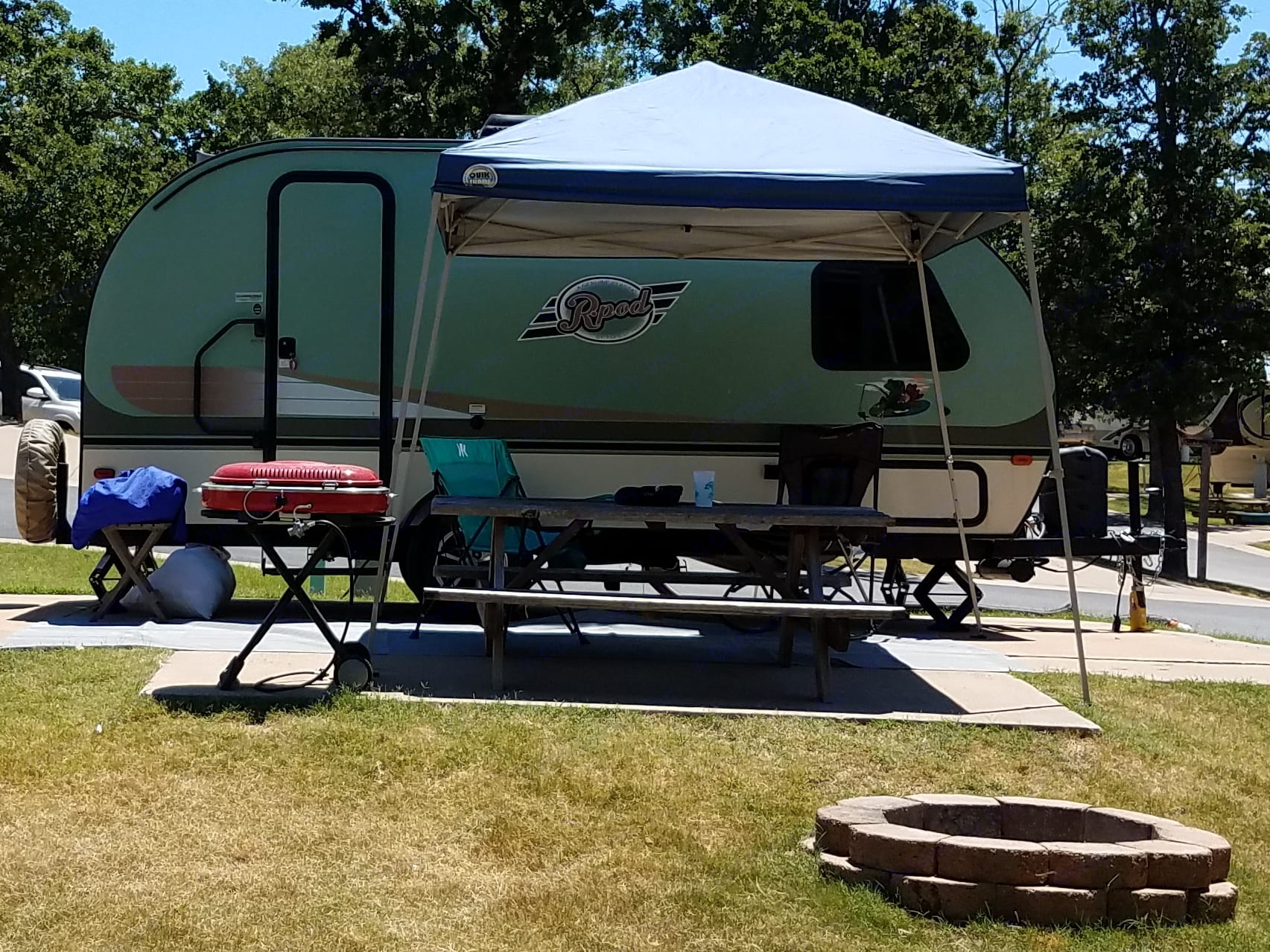 Perfectly size RV for going anywhere. . Forest River R-Pod 2017