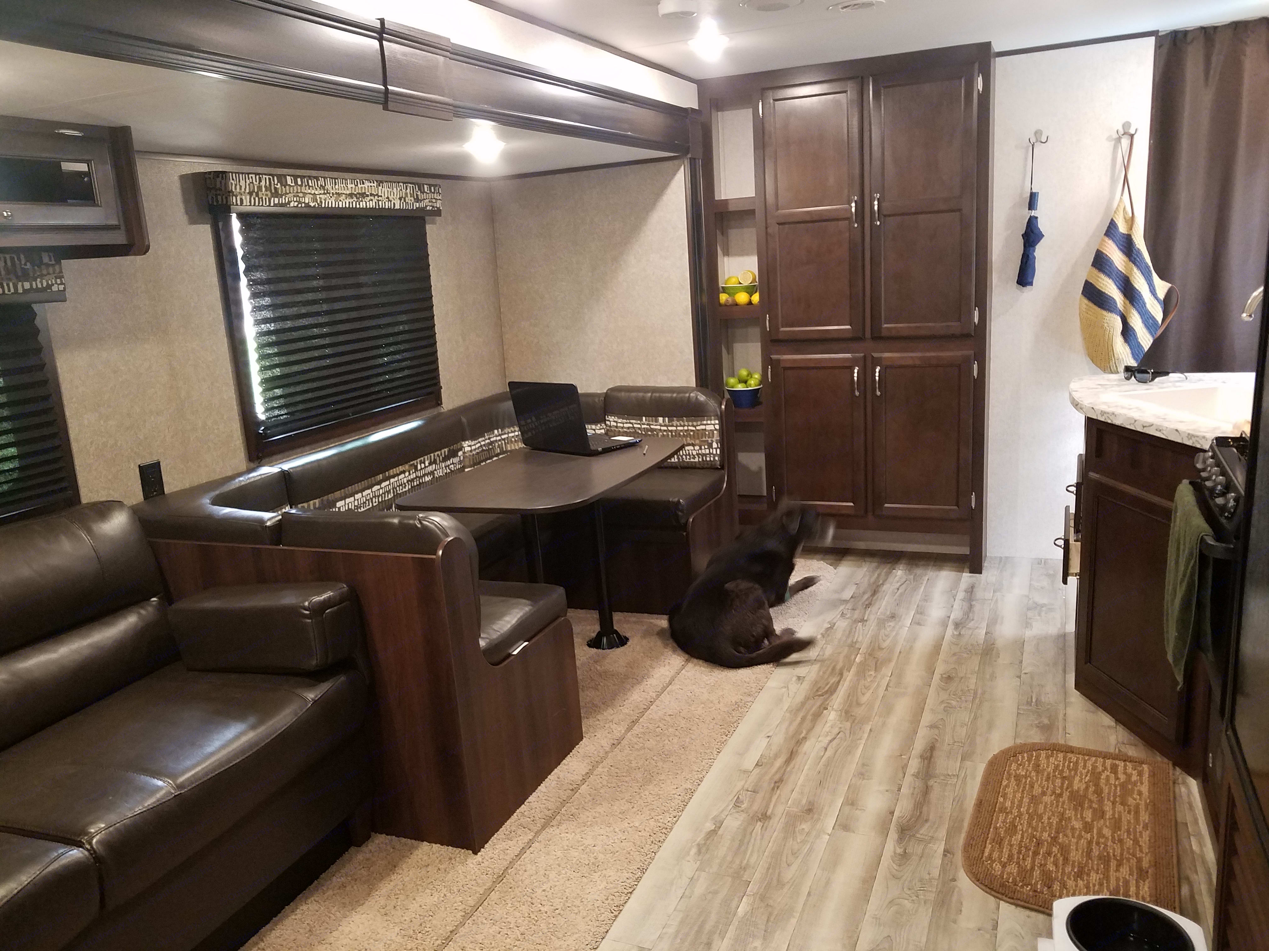 Plenty of room to relax and/or entertain!. Jayco Jay Flight 2018