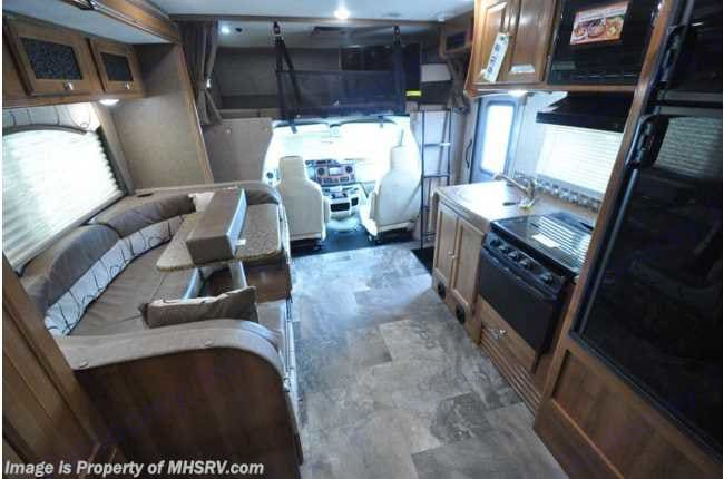 round table seating,stove.microwave. lepracon F Coachman 2018