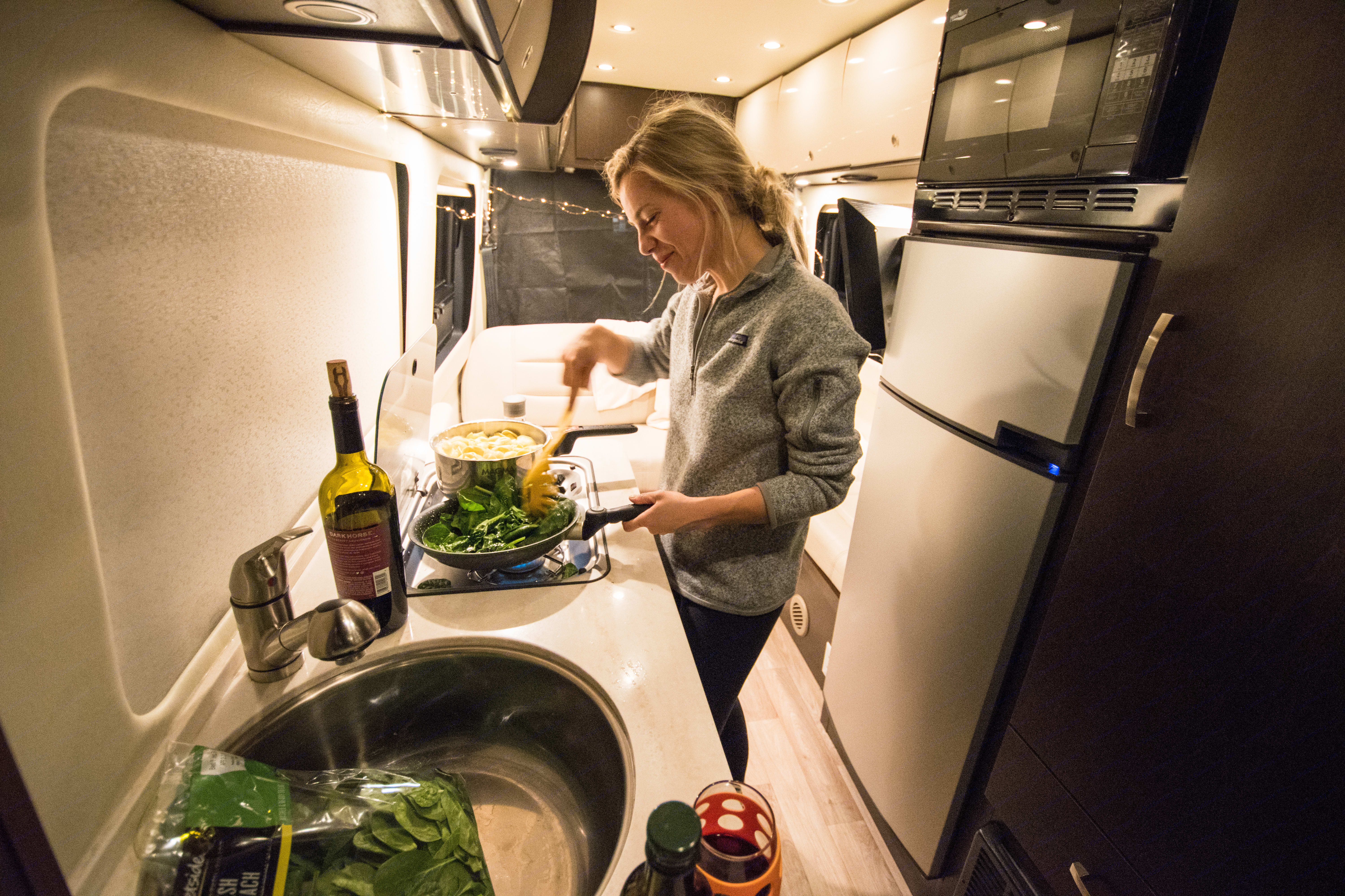 The perfect setting for a creating a delicious meal.. Mercedes-Benz Sprinter 2014