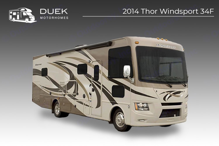 Thor Windsport 34F 2014